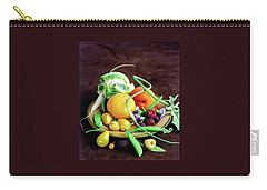 Seasonal Fruit And Vegetables Carry-all Pouch
