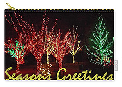 Seasons Greetings Carry-all Pouch by Darren Robinson