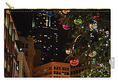 Seattle Downtown Christmas Time Art Prints Carry-all Pouch