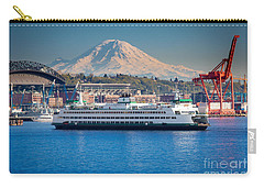 Seattle Harbor Carry-all Pouch by Inge Johnsson