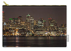 Seattle Lake Union Winter Reflection Carry-all Pouch