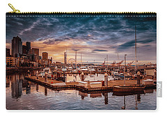 Seattle Marinescape. Carry-all Pouch by Eti Reid