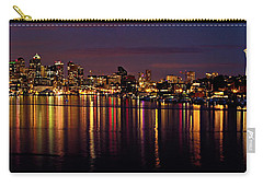 Seattle Night Reflections Carry-all Pouch