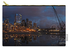 Seattle Night Skyline Carry-all Pouch