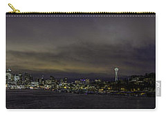Seattle Skyline Carry-all Pouch by Charlie Duncan