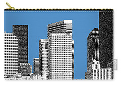 Seattle Skyline - Slate Carry-all Pouch