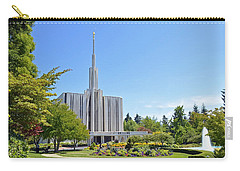 Seattle Temple - Horizontal Carry-all Pouch