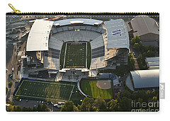 Seattle With Aerial View Of The Newly Renovated Husky Stadium Carry-all Pouch