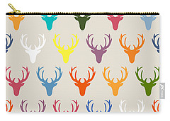 Seaview Simple Deer Heads Carry-all Pouch