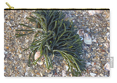 Carry-all Pouch featuring the photograph Seaweed by Robert Nickologianis