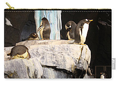 Seaworld Penguins Carry-all Pouch