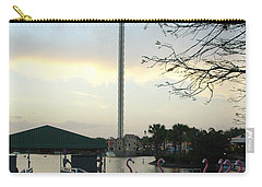 Carry-all Pouch featuring the photograph Seaworld Skytower by David Nicholls