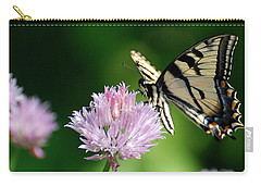 Carry-all Pouch featuring the photograph Second Nature Butterfly by Christina Rollo