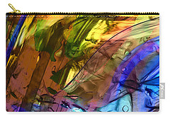Carry-all Pouch featuring the painting Secret Animal by Richard Thomas