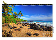 Secret Beach Maui Carry-all Pouch by Kelly Wade