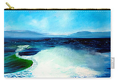 Secret Beach Surf Art Carry-all Pouch
