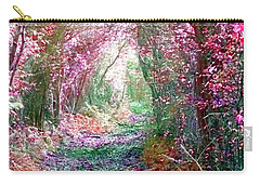 Carry-all Pouch featuring the photograph Secret Garden by Vicki Spindler