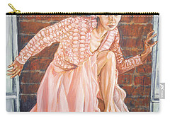 Carry-all Pouch featuring the painting Secret Passage by Bryan Bustard