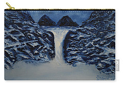 Carry-all Pouch featuring the painting Secret Places by Shawn Marlow