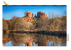 Sedona Winter Reflections Carry-all Pouch