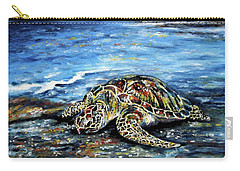See Weed Turtle Carry-all Pouch