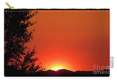 Carry-all Pouch featuring the photograph See You Tomorrow by Janice Westerberg