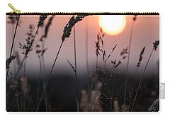 Seed Heads At Sunset Carry-all Pouch