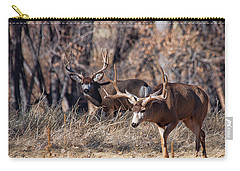 Carry-all Pouch featuring the photograph Seeing Double by Jim Garrison