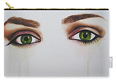 Seeing Into The Soul Serious Carry-all Pouch