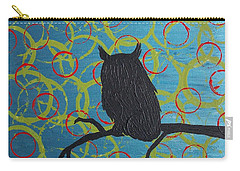 Carry-all Pouch featuring the painting Seer by Jacqueline McReynolds