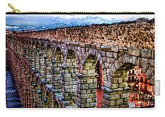 Segovia Aqueduct Spain By Diana Sainz Carry-all Pouch