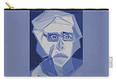 Self Portrait In Cubism Carry-all Pouch