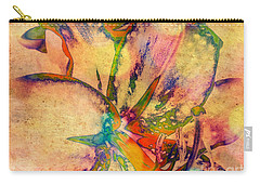 Springtime Floral Abstract Carry-all Pouch