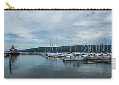 Seneca Lake Harbor - Watkins Glen - Wide Angle Carry-all Pouch