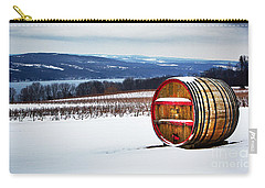 Seneca Lake Winery In Winter Carry-all Pouch