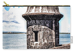 Sentry Box In El Morro Hdr Carry-all Pouch