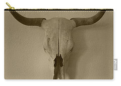 Sepia Skull Carry-all Pouch