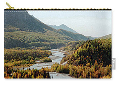 September Morning In Alaska Carry-all Pouch by Denyse Duhaime