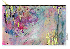 Serene Mist Encaustic Carry-all Pouch