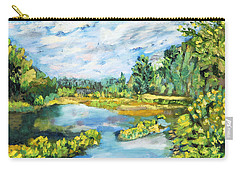 Serene Pond Carry-all Pouch