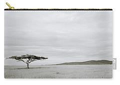Serengeti Acacia Tree  Carry-all Pouch by Shaun Higson