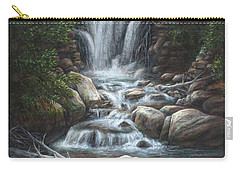 Carry-all Pouch featuring the painting Serenity by Kim Lockman