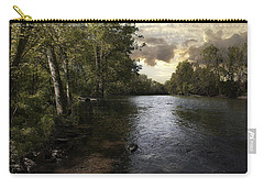 Carry-all Pouch featuring the photograph Serenity by Lynn Geoffroy