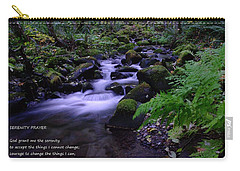 Serenity Prayer  Carry-all Pouch by Jeff Swan