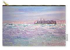 Serenity Sky Carry-all Pouch by George Riney