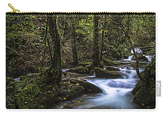 Carry-all Pouch featuring the photograph Sesin Stream Near Caaveiro by Pablo Avanzini