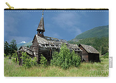 Carry-all Pouch featuring the photograph Seton Portage Church by Rod Wiens