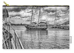 Carry-all Pouch featuring the photograph Setting Sail by Howard Salmon