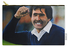Seve Ballesteros Oil On Canvas Carry-all Pouch