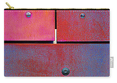 Seven Eight Nine - Colorful Rust - Magenta Blue Carry-all Pouch
